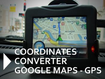 coordonnées gps conversion